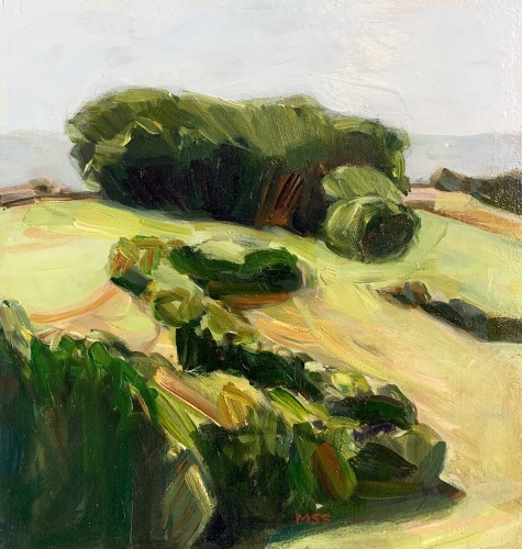 Minnie Shaw Stewart, Lambourn Downs II (Hungerford Gallery)