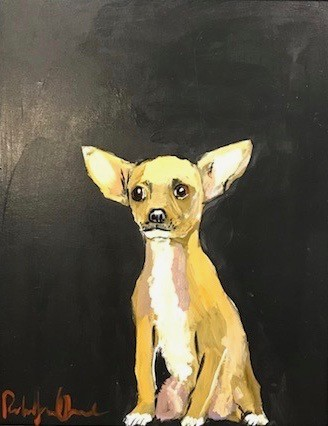Robert James Clarke, Chihuahua (Hungerford Gallery)