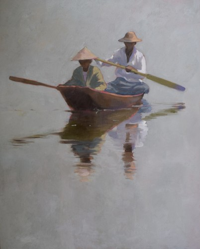 Clare Granger, Two in a Canoe