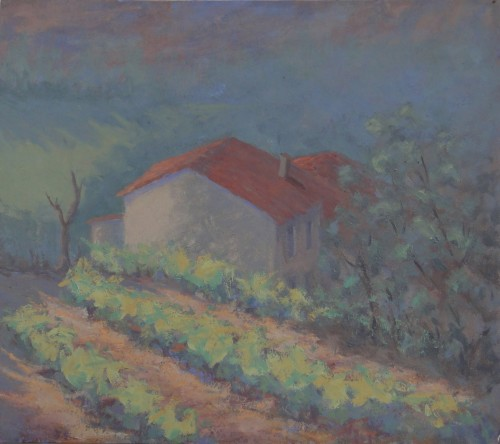 Hermione Owen, Spring Vines (Hungerford Gallery)