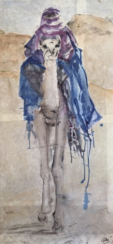 Christine Seifert, Purple and Blue (Hungerford Gallery)