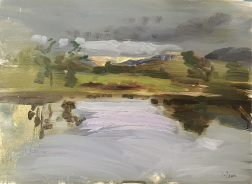 Richard Colson, Highland Loch (London Gallery)