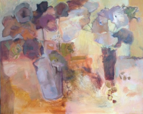 Margaret Devitt, Flowers in Autumn (Hungerford Gallery)