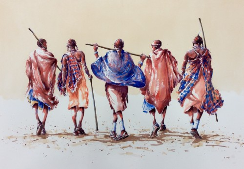Julia Cassels, Maasai Warriors