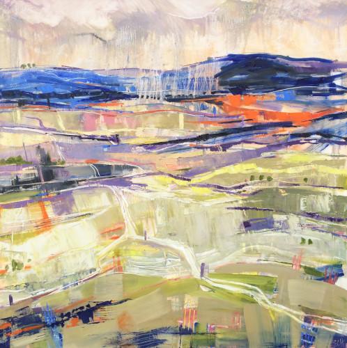 Emma Haggas, Morning Rain (London Gallery)