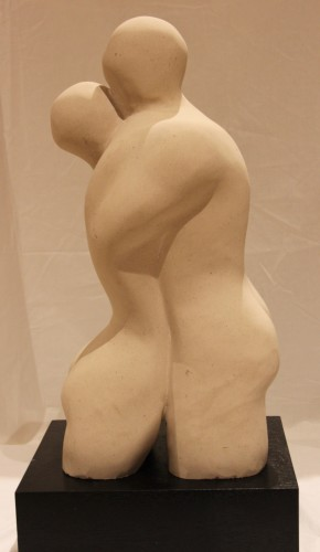Rose Eva, Maquette for Embrace (Hungerford Gallery)