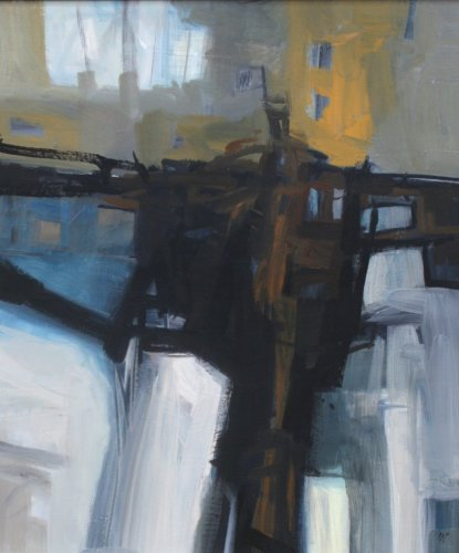 Malcolm Chandler, Leaning From (London Gallery)