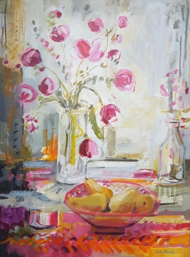 Kate Rhodes, Petals and Pears (Hungerford Gallery)