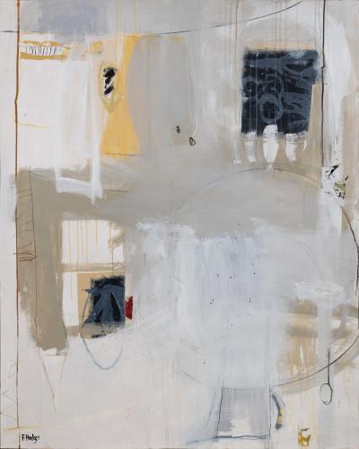 Felice Hodges, Interior with Amber Vase