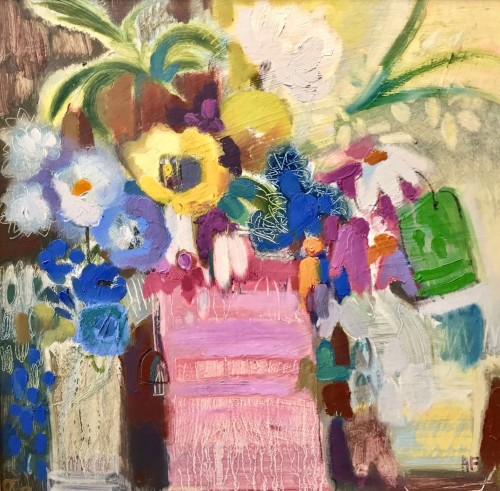 Annabel Fairfax, Mixed Flowers (Hungerford Gallery)