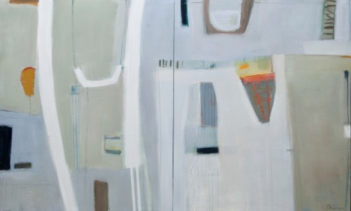 Shirin Tabeshfar Houston, Duettino - diptych (unframed) (London Gallery)