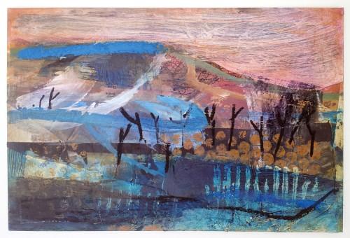 Liz Hough, Trink - Evening (Hungerford Gallery)