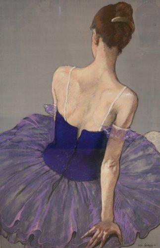 Katya Gridneva, Ballerina in Purple (Hungerford Gallery)