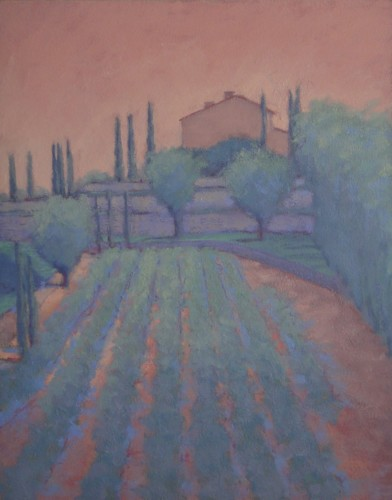 Hermione Owen, Vines Italy (Hungerford Gallery)
