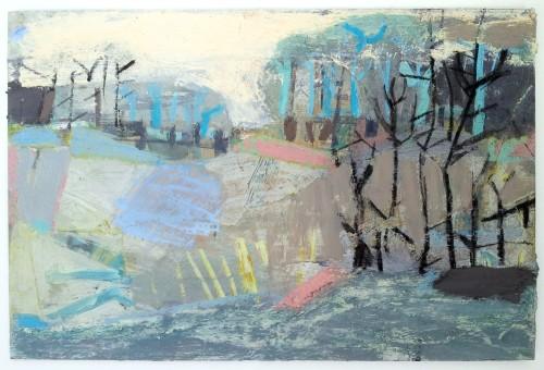 Liz Hough, River Walk (Hungerford Gallery)
