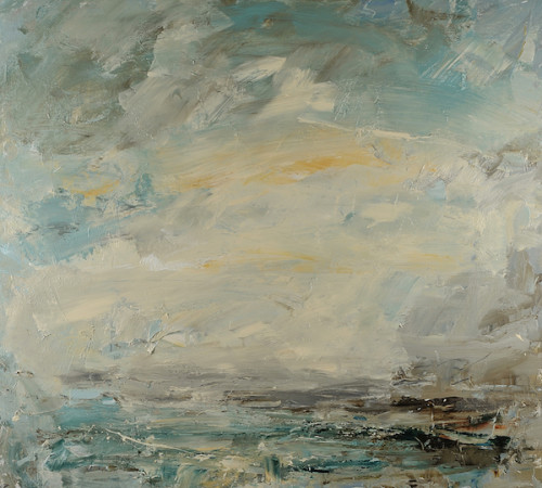 Louise Balaam, Norfolk Sky, Salt Air (Hungerford Gallery)