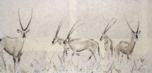 Christine Seifert, Oryx (Framed) (Hungerford Gallery)