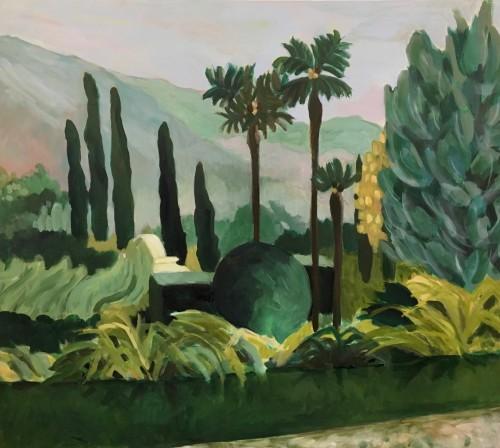 Lottie Cole, Lake Como Just Before Dawn (Unframed) (London Gallery)