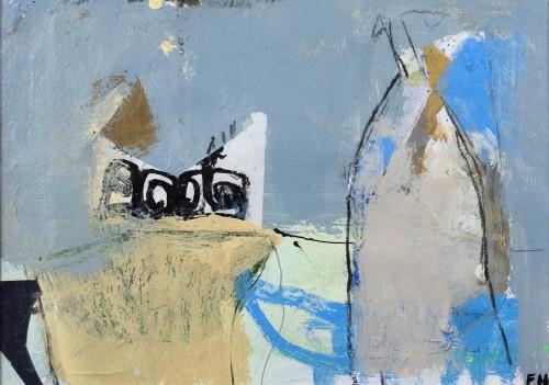 Felice Hodges, Periwinkle Blue (Still Life)
