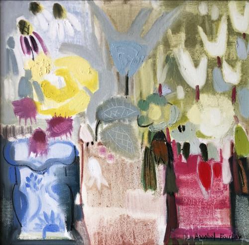 Annabel Fairfax, White Tulips (Hungerford Gallery)