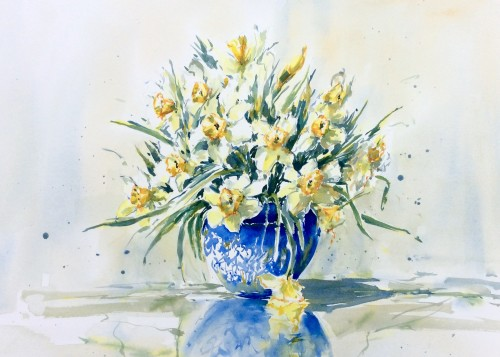 Julia Cassels, Spring (Hungerford Gallery)