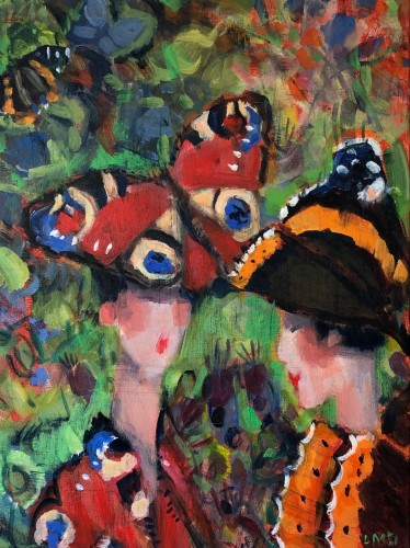 Lucy Dickens, Butterfly Ladies II (London Gallery)