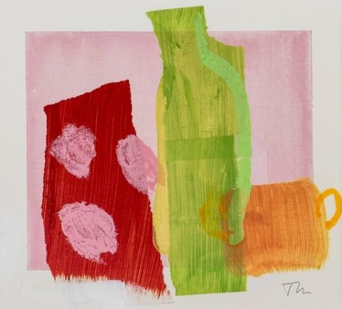 Jane Martin, Green Bottle (Hungerford Gallery)