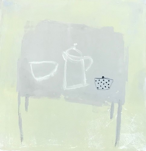 Jenny Lock, Grey Table (Hungerford Gallery)