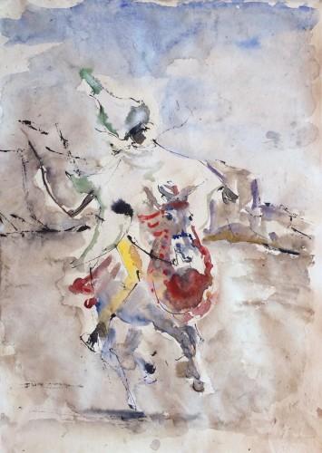 Christine Seifert, Ethiopian Horseman (Hungerford Gallery)