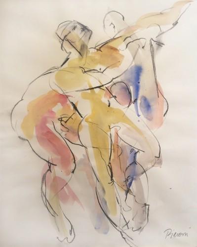 Bella Pieroni, Dancers III (Mounted) (Hungerford Gallery)