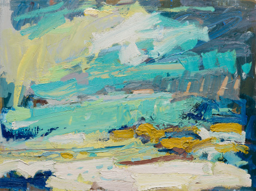 Paul Wadsworth, Sunshine On A Clear Day (London Gallery)