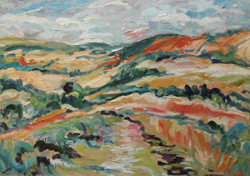 Fi Katzler, Rolling Downs (Hungerford Gallery)