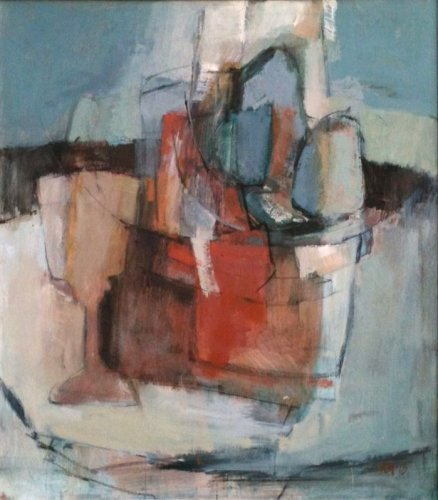 Kathy Montgomery, Abstraction with Glasses (London Gallery)