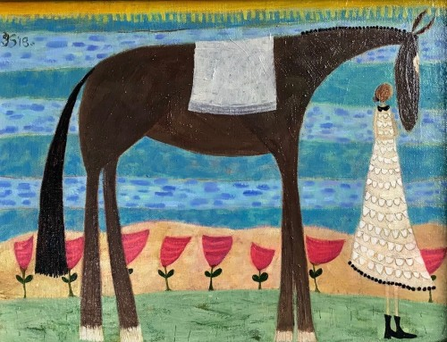 Ellen Skidmore, Mine (Hungerford Gallery)