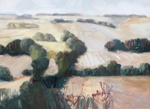 Minnie Shaw Stewart, West from Chaddleworth (London Gallery)