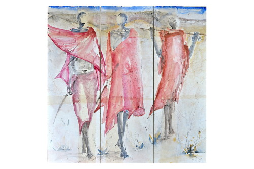Christine Seifert, Maasai Triptych