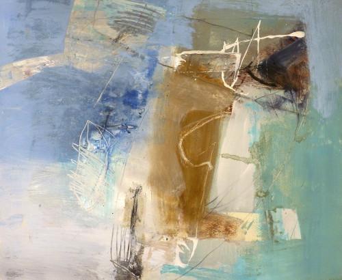 Chris Sims, Senor Blue (Framed) (Hungerford Gallery)
