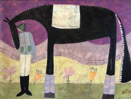 Ellen Skidmore, Meet (Hungerford Gallery)