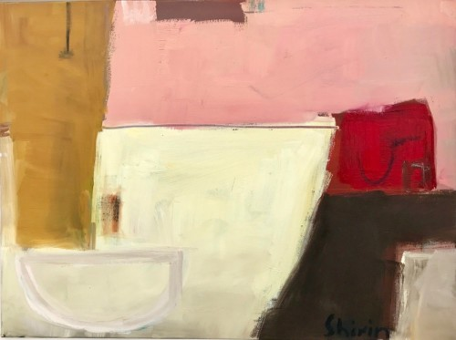 Shirin Tabeshfar Houston, Strawberries and Cream (London Gallery)