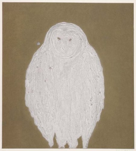 Kate Boxer, Owl (Mounted)