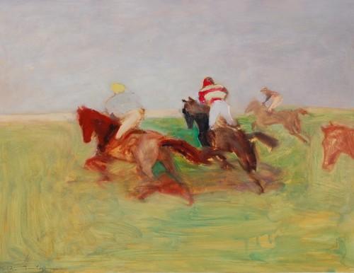 Antoine de La Boulaye, Across the Heath (Hungerford Gallery)
