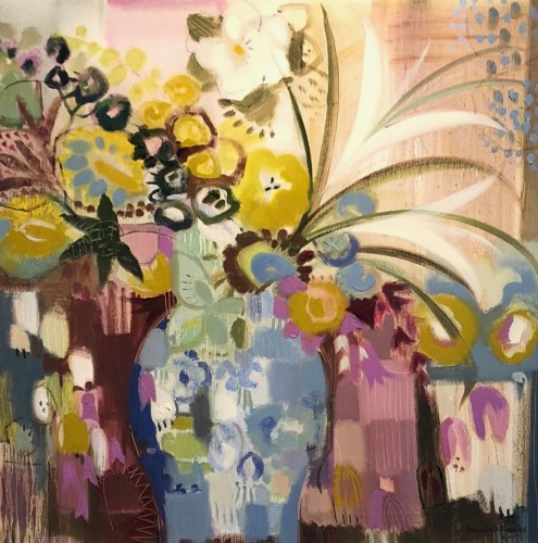 Annabel Fairfax, Spray of Wild Flowers and Lillies (London Gallery)