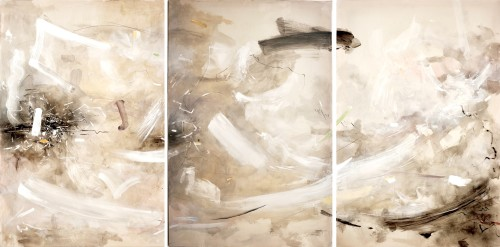 Bob Aldous, Triptych - Past Present Future (London Gallery), 2017