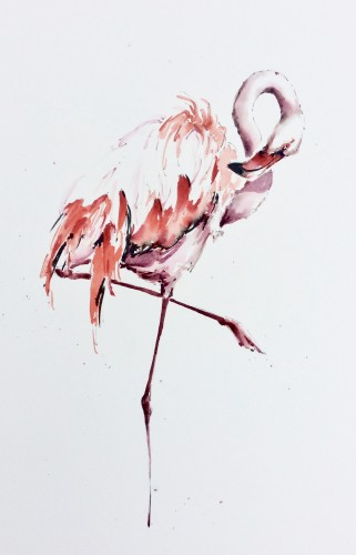 Julia Cassels, Flamingo III
