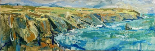 Emma Haggas, Cornish Coastline (Hungerford Gallery)