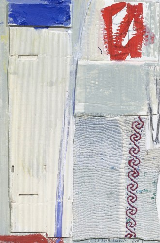 Chloë Lamb, Cool and Red (Hungerford Gallery)