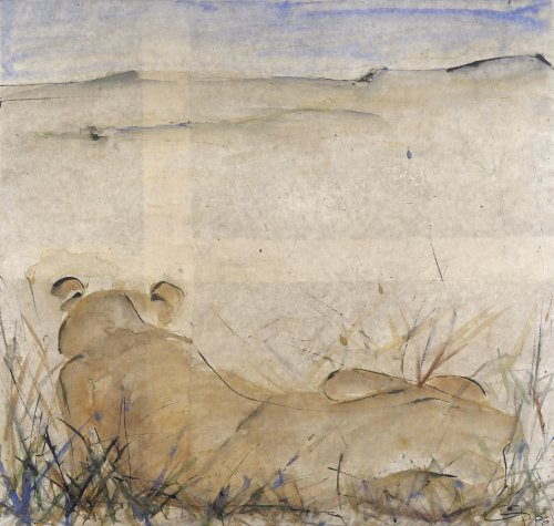 Christine Seifert, Lioness (Hungerford Gallery)