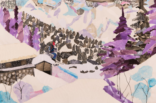 Dione Verulam, A Mountain Hamlet (London Gallery)