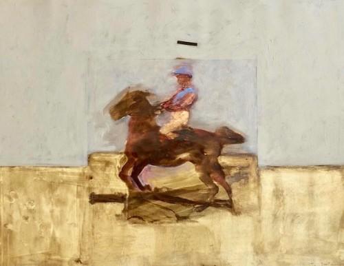 Antoine de La Boulaye, Jockey II (Hungerford Gallery)