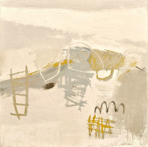 Jenny Lock, Walk on West Beach (Hungerford Gallery)